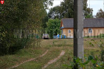Налибокская пуща. Северная часть деревни Заборье