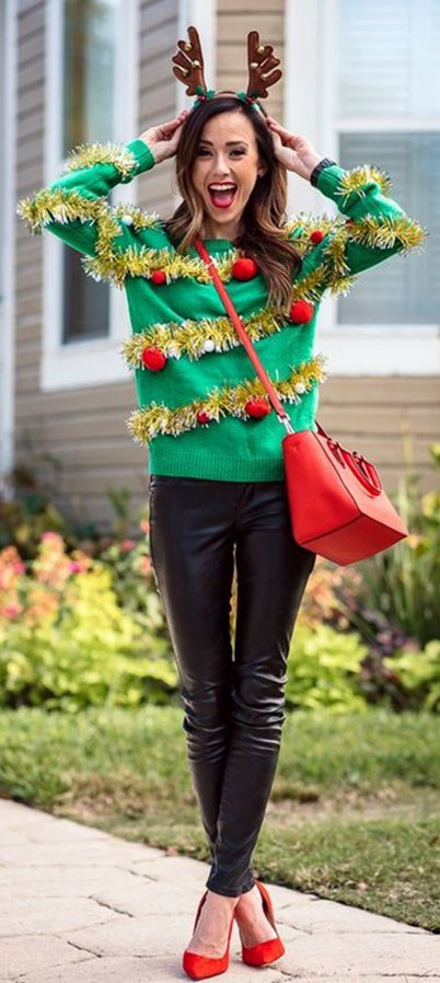 Christmas Outfit Ideas To Wear Now #christmas