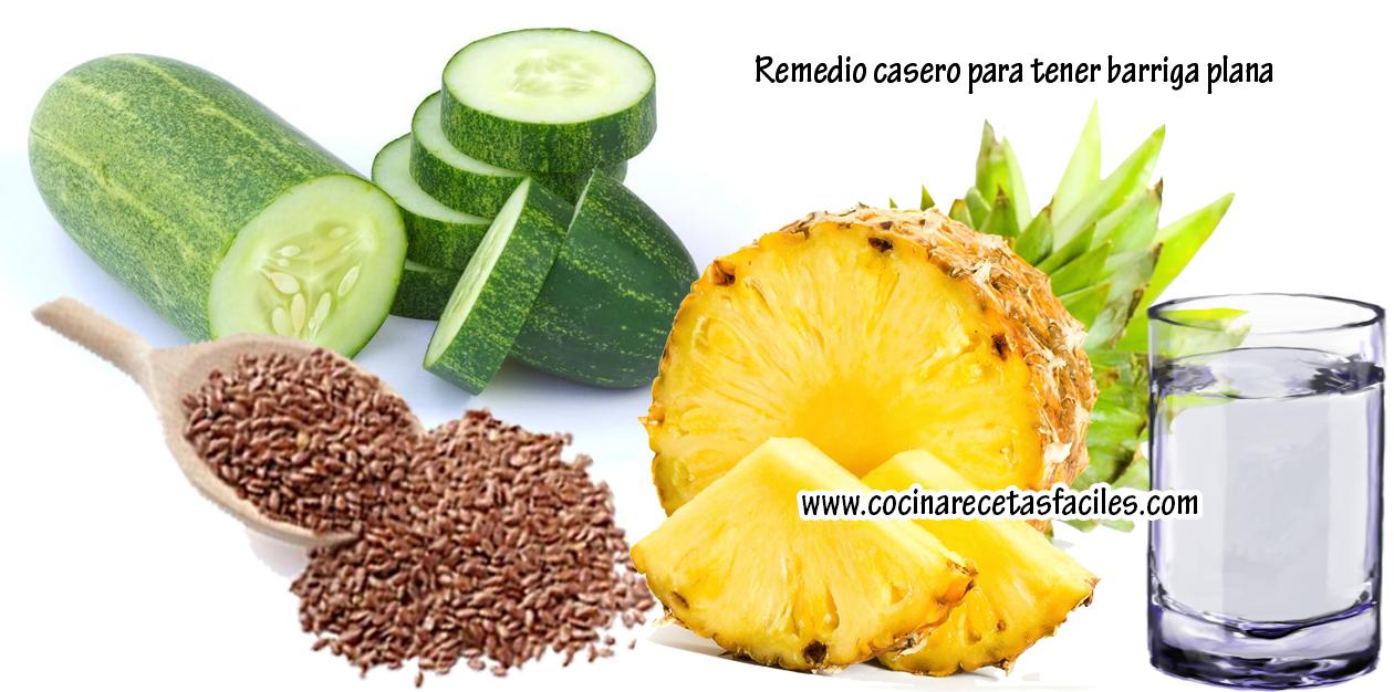 Remedios naturales para adelgazar la barriga