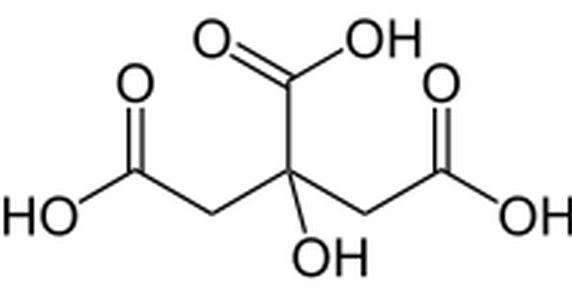 Rumus Kimia Asam Sitrat Rumus Kimia