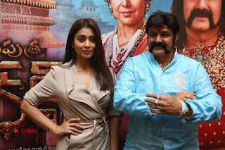 Shriya Saran Nandamuri Balakrishna at Gautamiputra Satakarni Team Press Meet Stills  0196.JPG