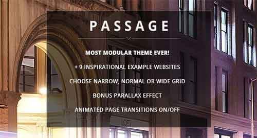 Passage v1.8.1 WordPress Theme