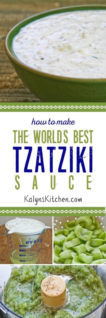 Worlds Best String Bikini Bottoms: How To Make The World's Best Tzatziki Sauce (VIDEO