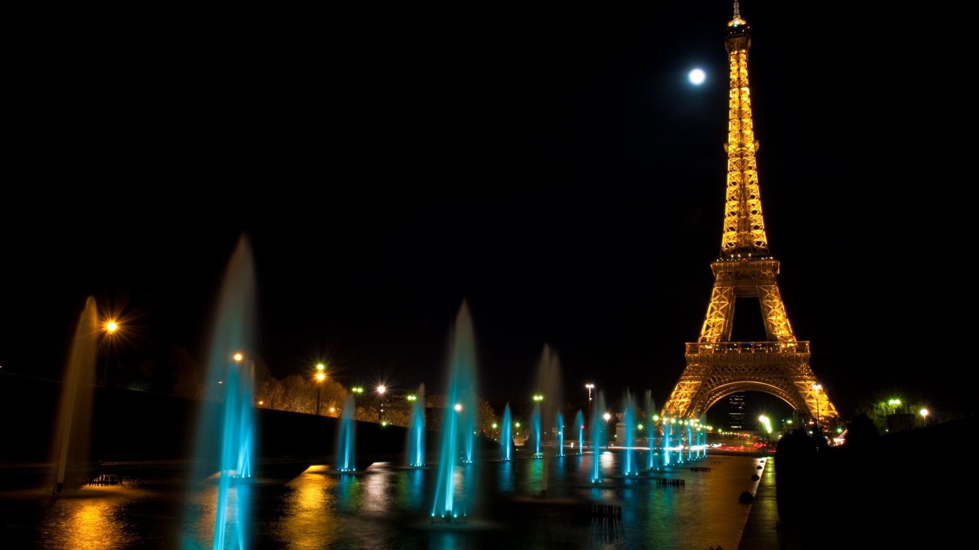 Paris At Night. Tour Eiffel HD Wallpapers