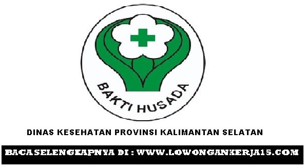 Lowongan kerja Dinas Kesehatan Kalimantan selatan