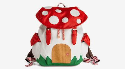 mochila de honguito