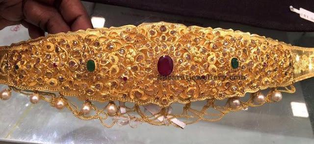 Uncut Diamond and Lakshmi Vaddanam