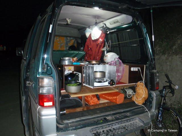 Taiwan Camping 台灣露營 Diy Mobile Kitchen Chuck Box