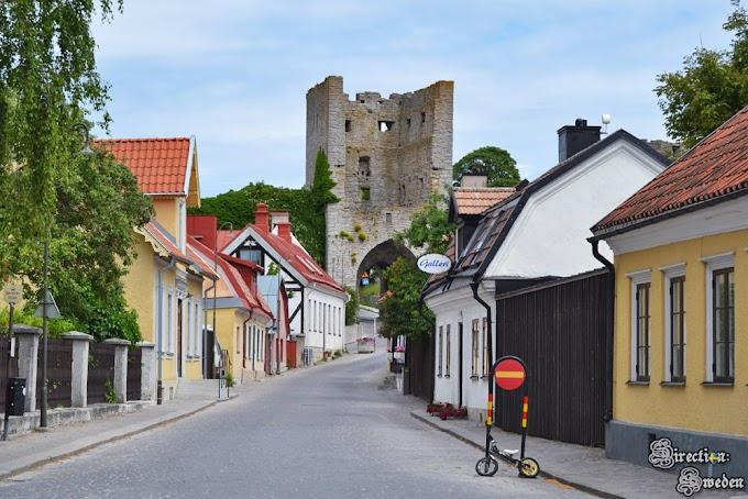 Co zostało ze średniowiecznego Visby?
