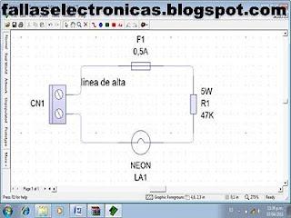 herramienta casera probador de lamparas lcd