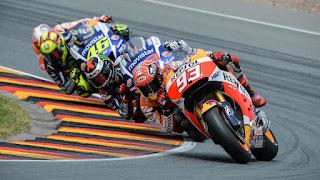 MotoGP Marc Marquez, Jorge Lorenzo y Valentino Rossi