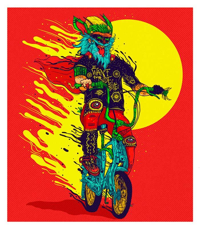 EnBiciArte. Bikefriendly de Luis Pinto