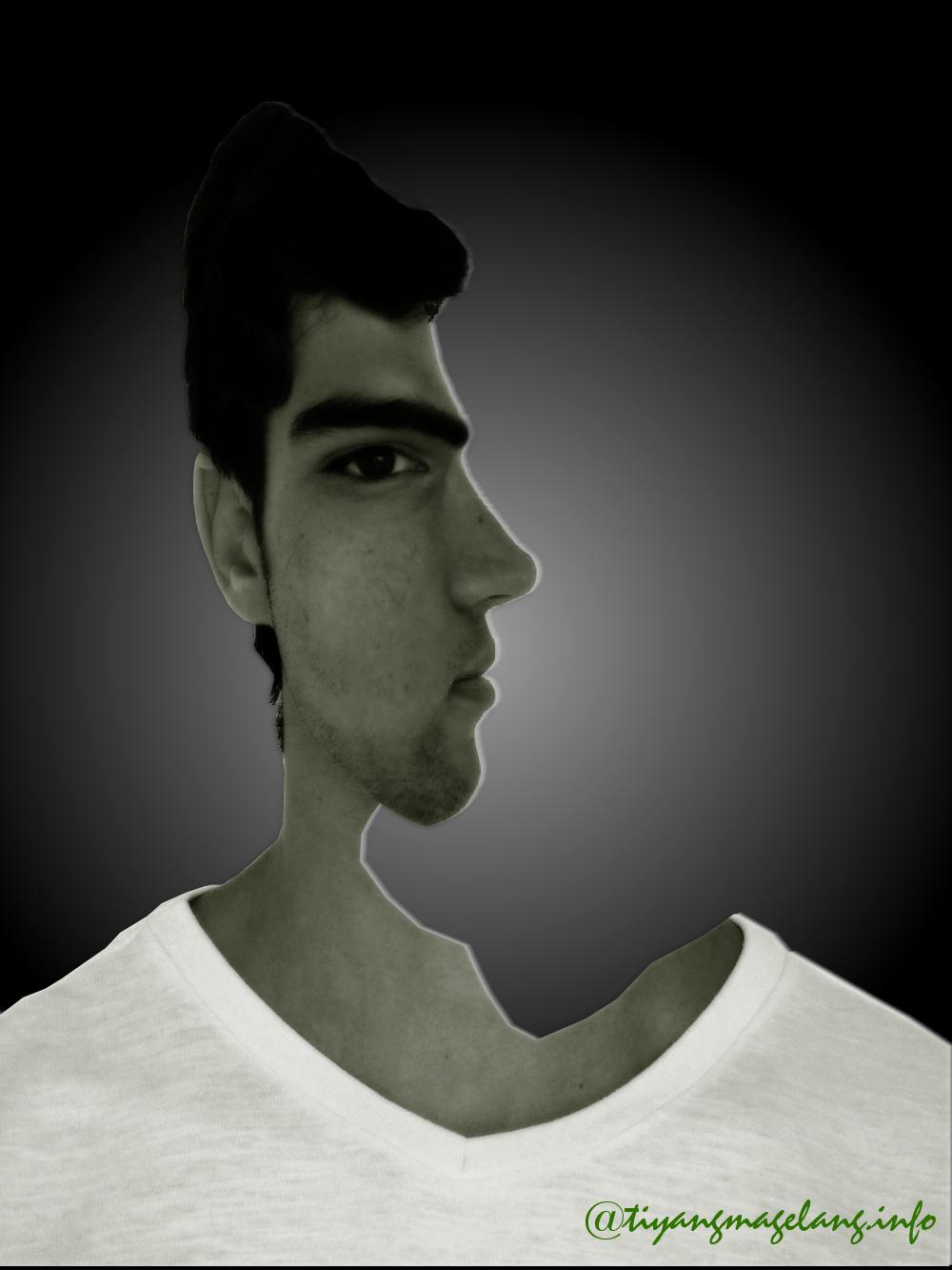Tutorial gimp-wajah membingungkan