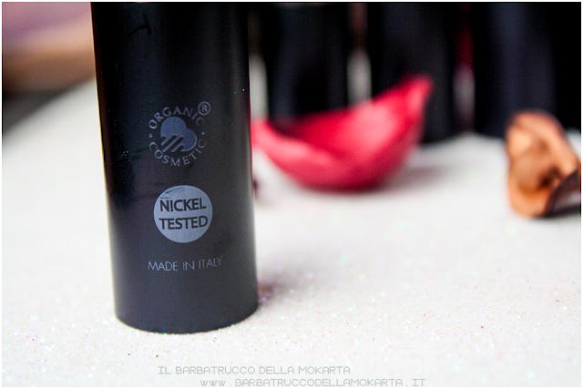 bullet review rossetti purobio , lipstick, vegan makeup, bio makeup, Recensione