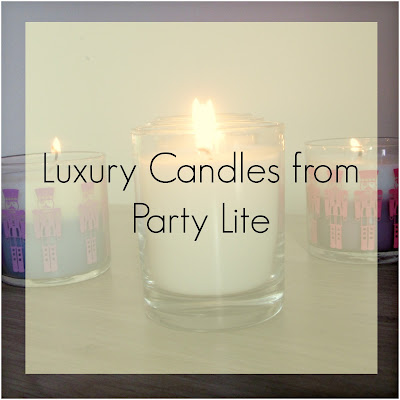 Luxury Candles from Party Lite #review