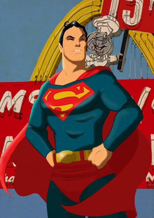 retro superman despop art amp comics