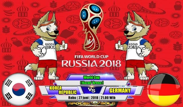 Prediksi South Korea vs Germany 27 Juni 2018
