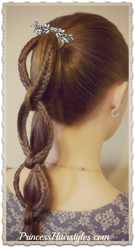 Hairstyles For Girls Princess Hairstyles How To Make A Fishtail