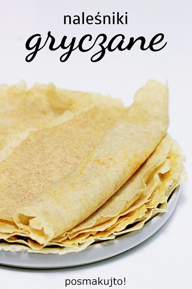 Naleśniki gryczane – bez glutenu