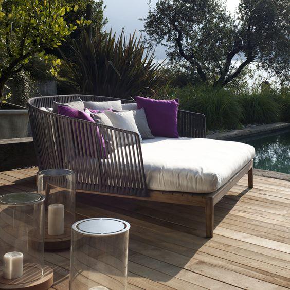 yazın bahçelerin en güzel mobilyası daybed-daybed modelleri