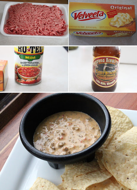 Queso con Carne ingredients