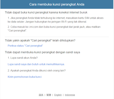 Reset/Bypass Akun MI Redmi Cloud Tanpa PC