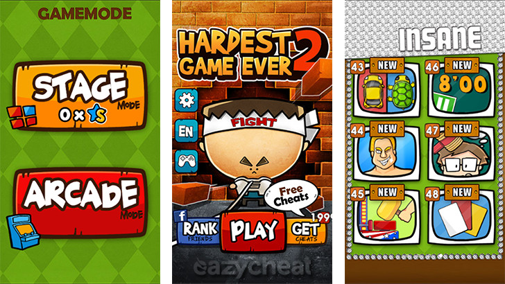 Hardest Game Ever 2 Cheats