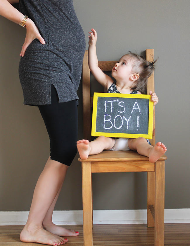 Gender Reveal! Bubby and Bean