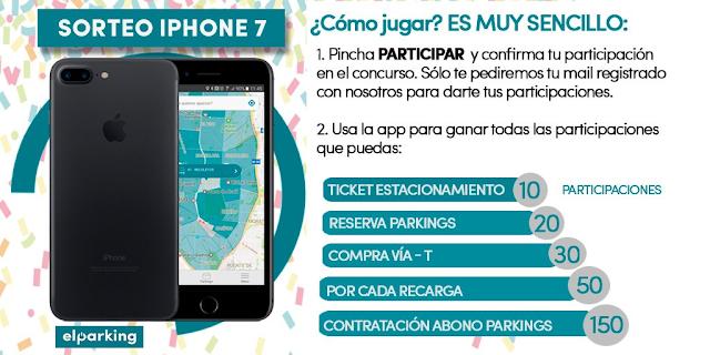 Gana un iPhone 7 sólo por aparcar