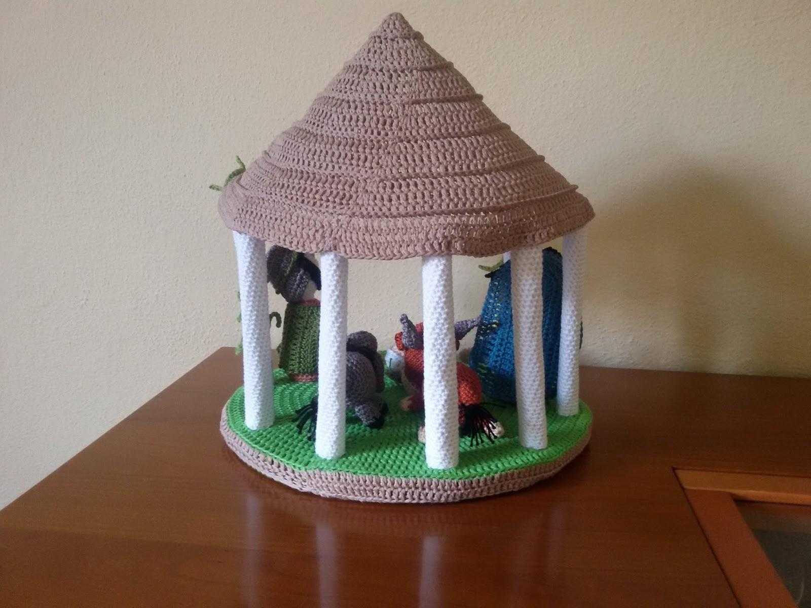 Famoso Il taccuino delle voci: La capanna della Natività fatta a mano con  UM04