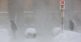 Σε βαθιά κατάψυξη Νέα Υόρκη & Σικάγο - Εννέα νεκροί από το ψύχος