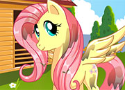 Fluttershy MLP Hair Salon