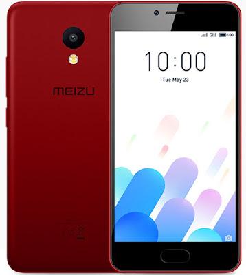 Meizu M5c rojo