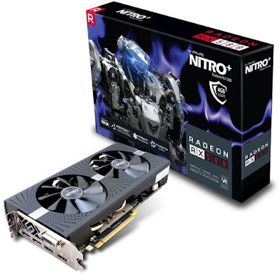 Sapphire Nitro+ Radeon RX 580 OC 4GB