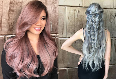 Hair Color Metallic - Hair Color Trend 2017 for Tan Skin