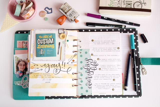 scrappin'planner by kushi settembre ottobre 2016 13| www.kkushi.com