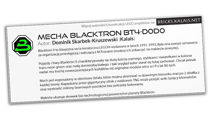3. Desc card which was near diorama at exibition (only in Polish language)