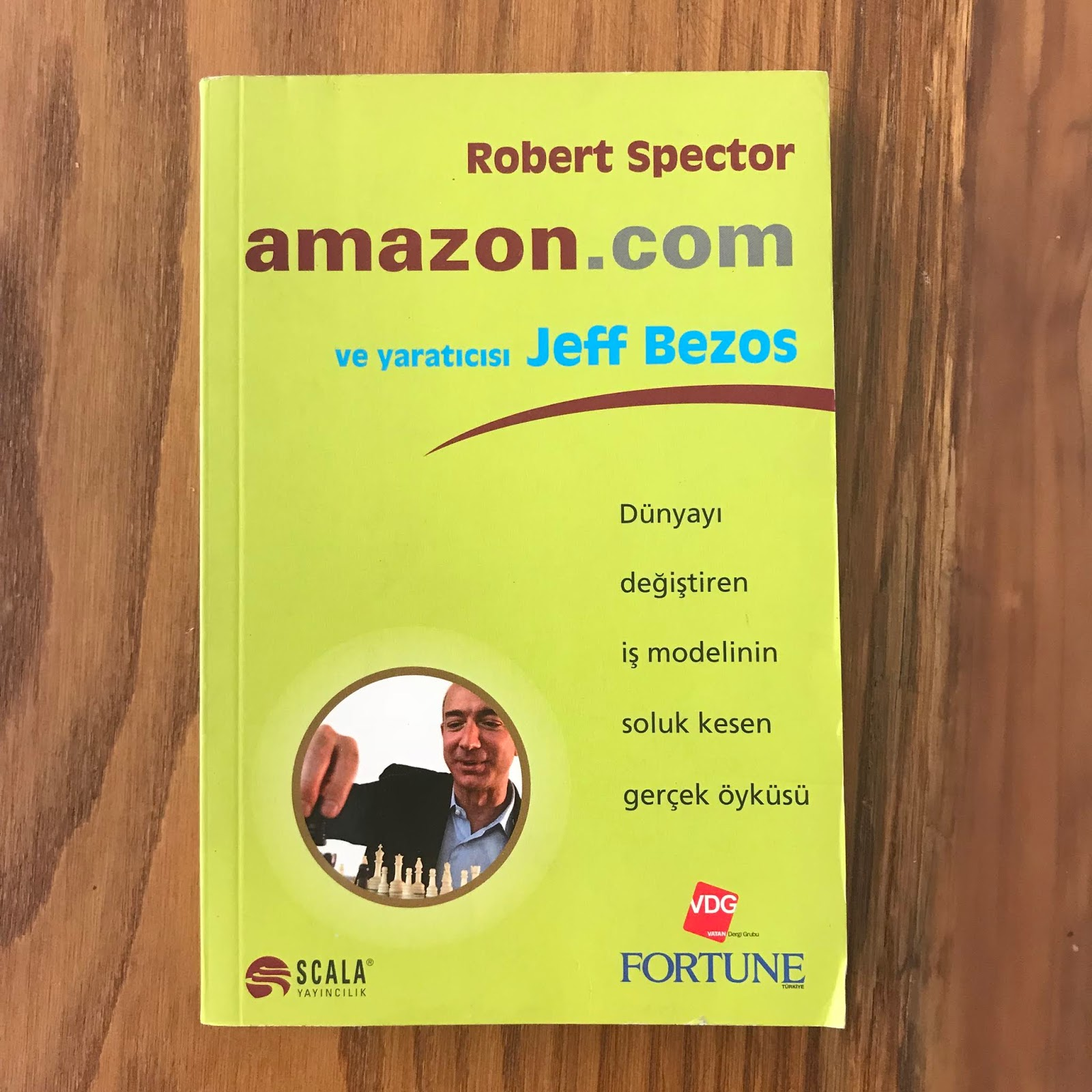 Amazon.com ve Yaraticisi Jeff Bezos