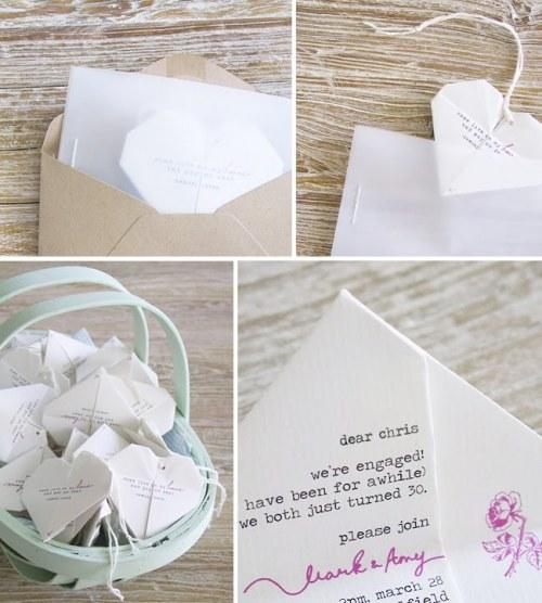 45 Super Cute Origami Wedding Ideas | Origami wedding, Cute ... | 556x500
