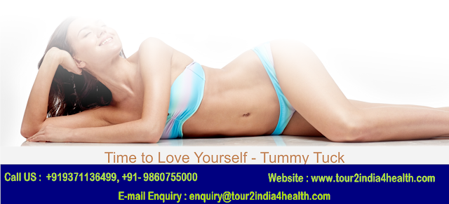 Tummy Tuck Surgery Cost in India: Contact Tour2India4Health