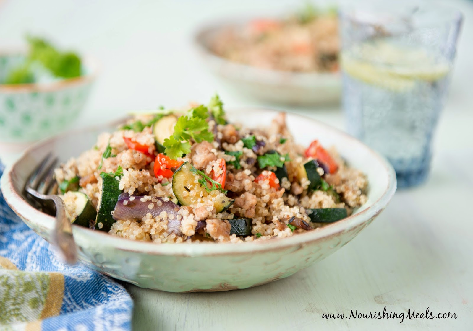 Quinoa Pilaf Recipe — Dishmaps