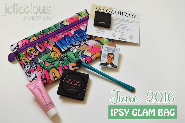 June 2016 Ipsy Glam Bag