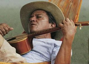'Cholo' Valderrama en concierto