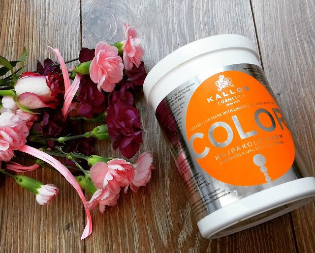 Kallos color jako idealna maska do mycia włosów i baza do wzbogacania