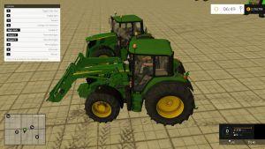 John Deere 6115M washable tractors final