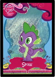 MLP Spike Series 1 Trading Card