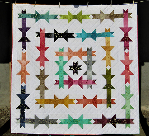 Ribbons and Bows Quilt Free Tutorial