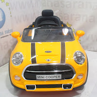 pliko mini cabrio lisensi mobil mainan aki