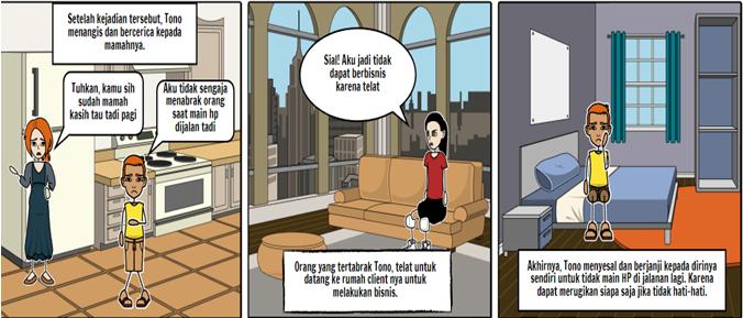 Contoh Storyboard Iklan Layanan Masyarakat Hemat Air Contoh Jari