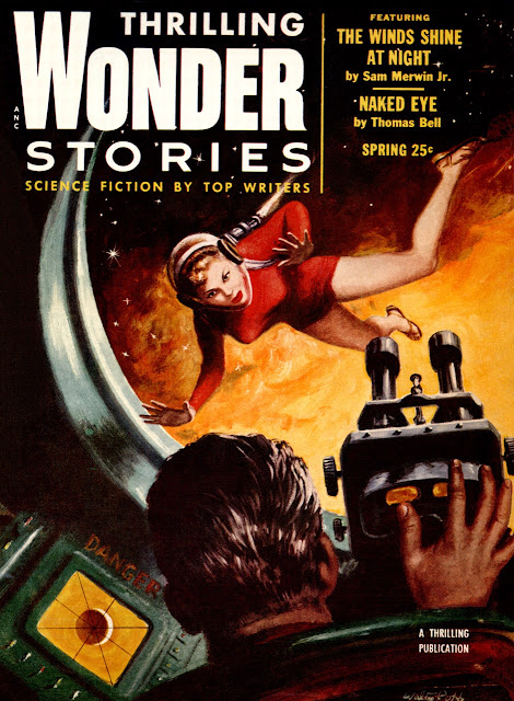 "Thrilling Wonder Stories, primavera 1954 - ""Naked Eye"""